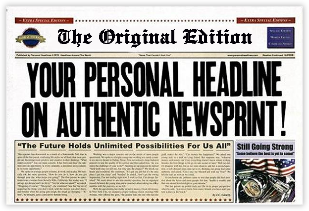 Newspaper images free download happy birthday gift with name