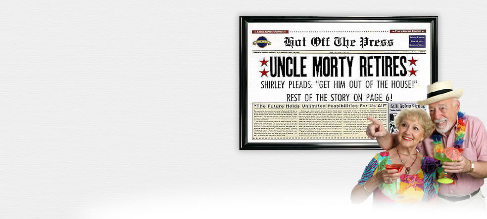 Fake Newspaper Headlines Front Page Gift Prank